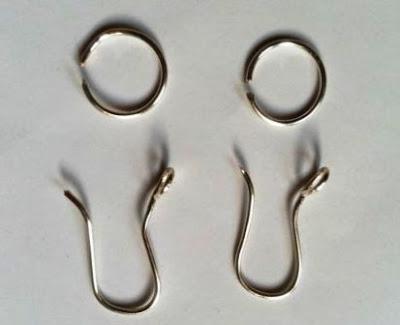 3 diy earring hooks - kerajinan kawat