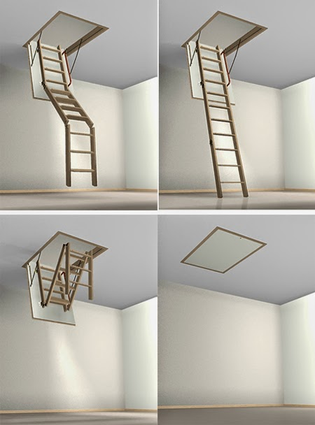 Attic Stairs Designs Types And Installation Stairs