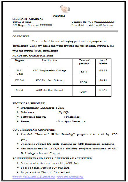 Examples%2Bof%2BGood%2BCV%2B(Page%2B1) Tamil Resume Format Pdf on templates free, for good, for government jobs,