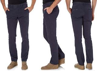 pantalon para hombre de color azul