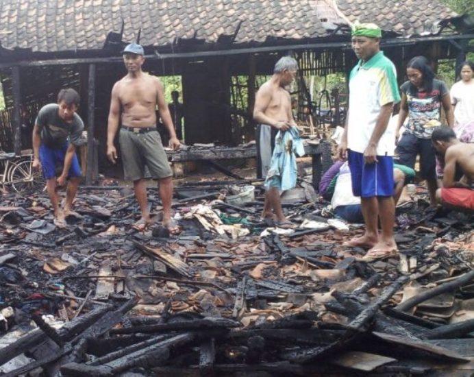Kebakaran di Ngawi