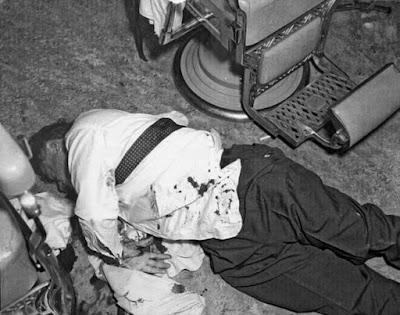 Albert Anastasia was shot to death in the Park Sheraton Hotel's barbershop.