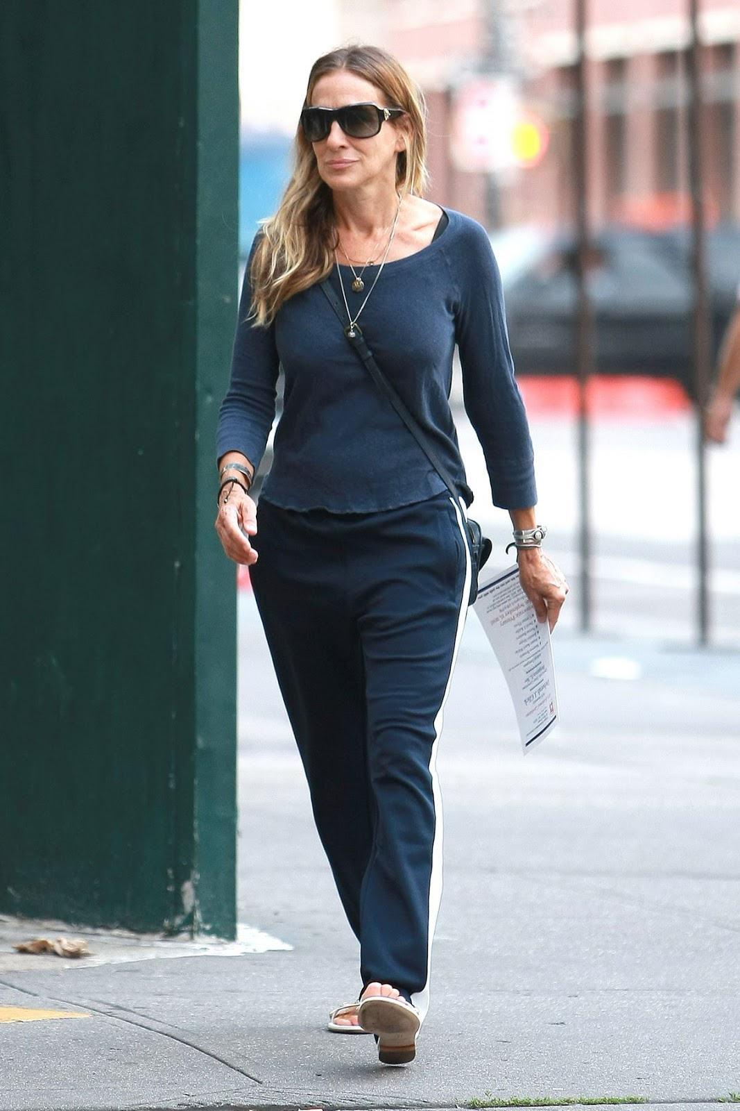 Sarah Jessica Parker Out And About In New York