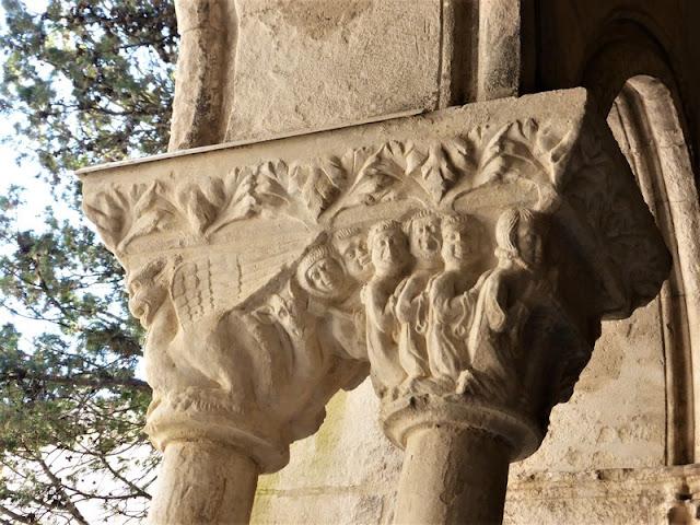 Capitel del Claustro de Saint-Trophime, Arlés