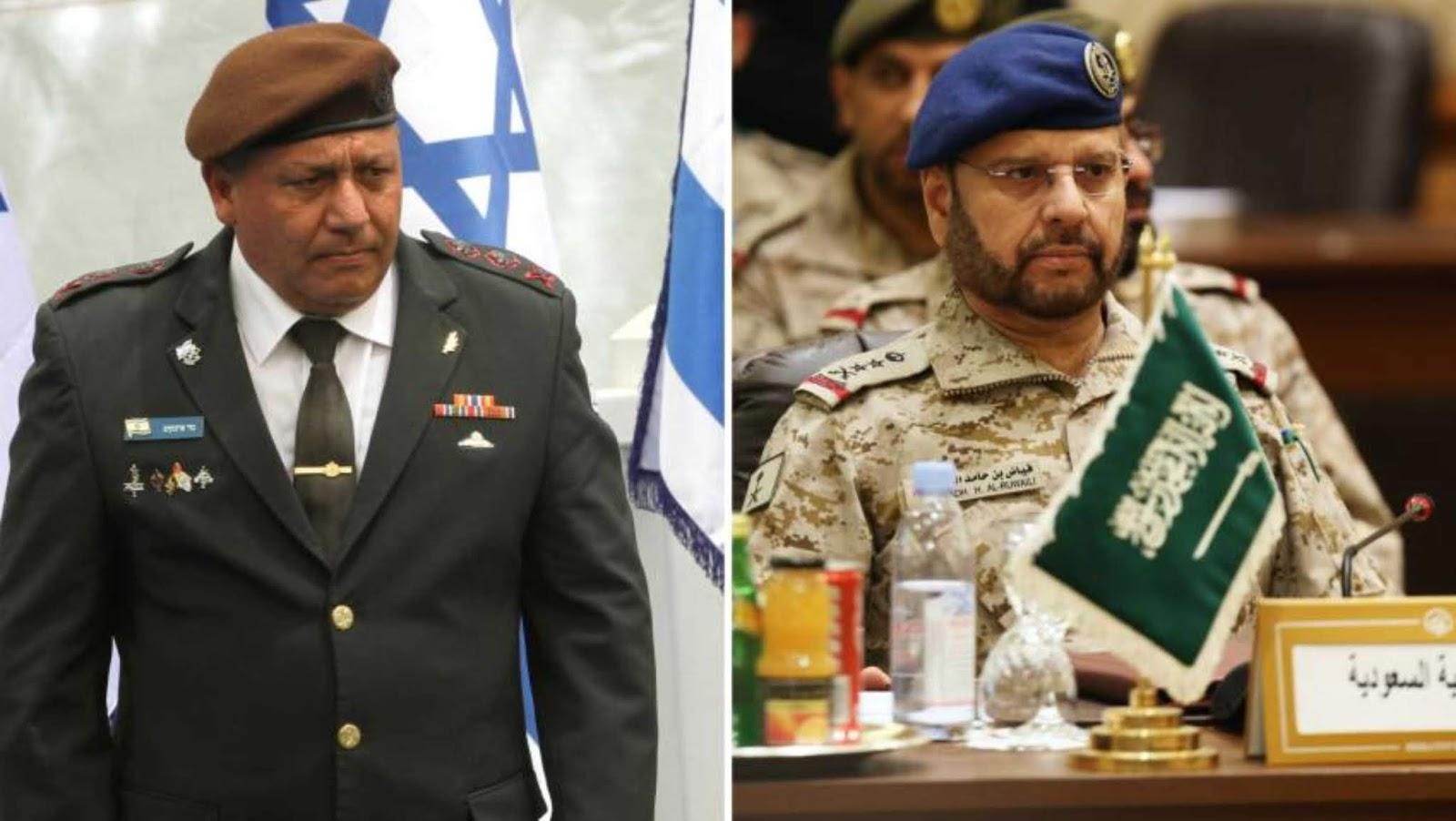 Petinggi militer Israel dan Saudi di Washington
