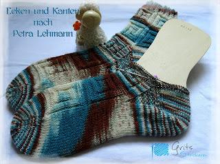 Grits Strickerei; Socken Ecken und Kanten, Addi Sockenwunder; toe-up