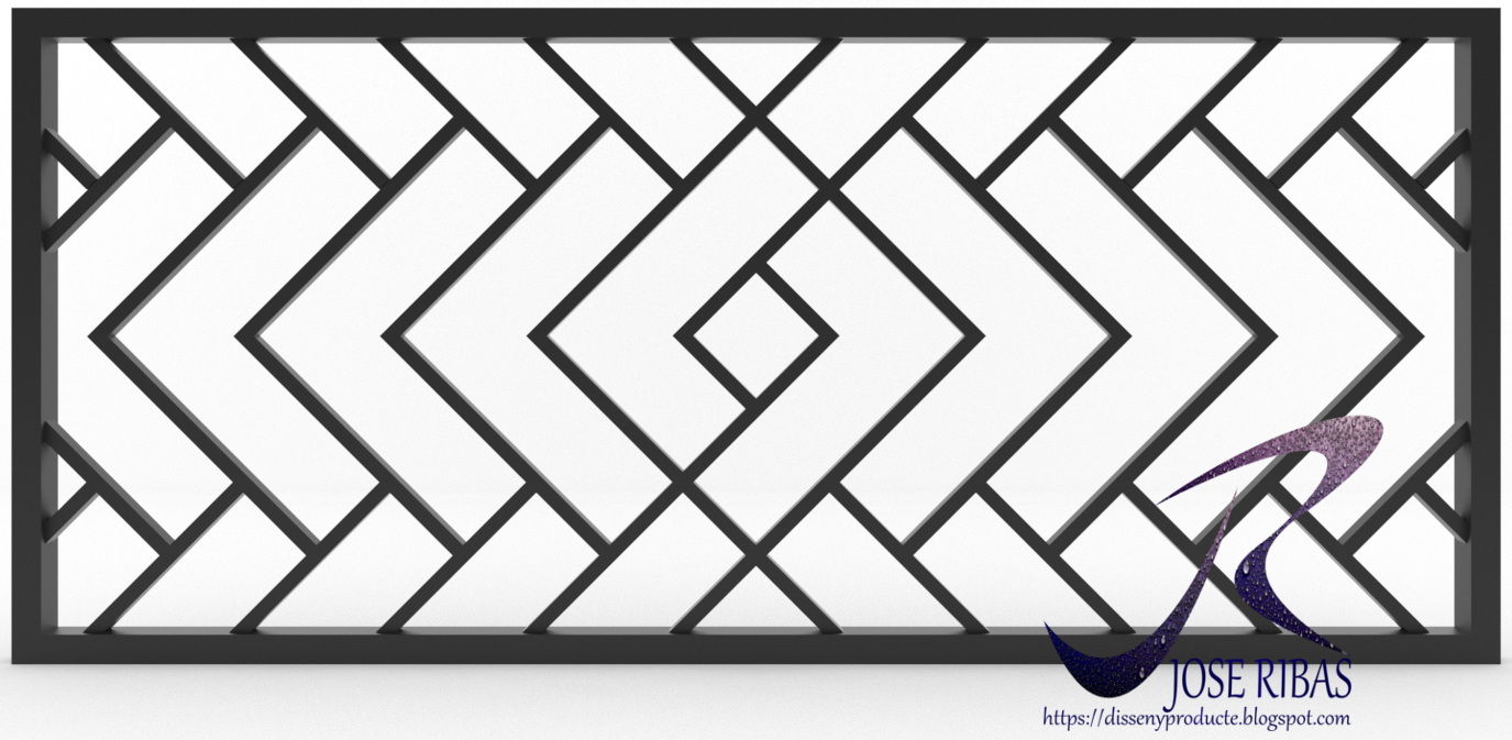 Proceso de dise o y fabricaci n de una reja decorativa - Rejas decorativas ...