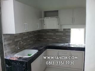 Harga kitchen set murah surabaya sidoarrjo