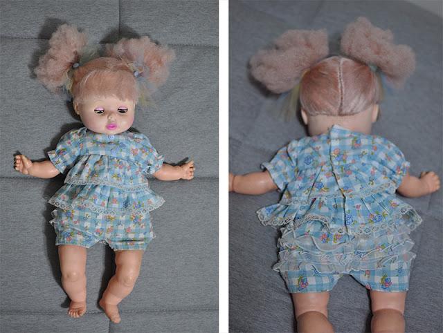 boneca Eegee Bebê restaurada