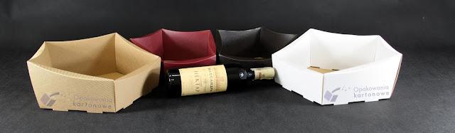 Kosz upominkowy z alkoholem