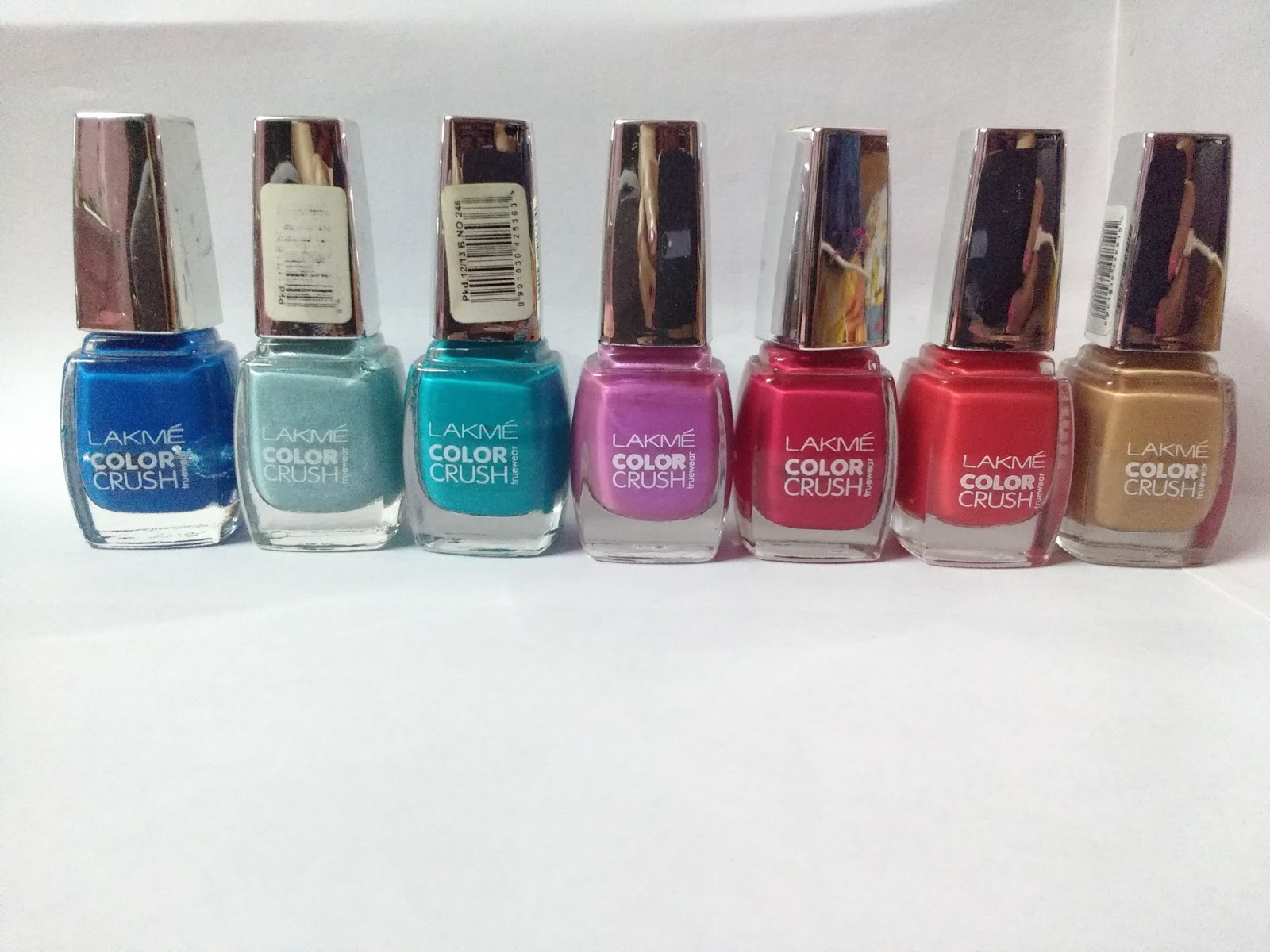 Lakme True Wear Color Crush Reviews And Swatches 27 24 41 31 47 02 03