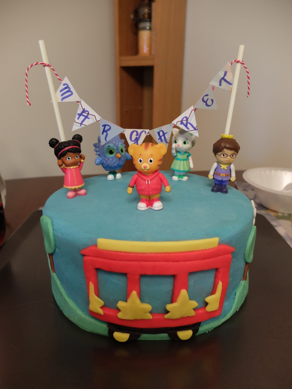 Sugar Boles Daniel Tiger Birthday Cake