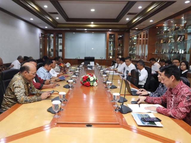 Pemprov Papua dan Kementerian Keuangan Bahas Saham dan Deviden Freeport Indonesia