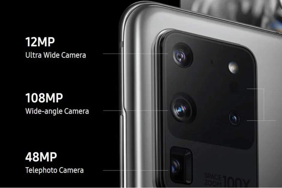 Fotocamera Samsung Galaxy S20 Ultra