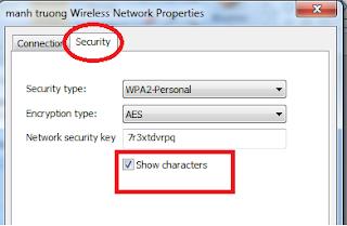 cách xem mật khẩu wifi trên win 8