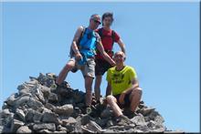 Aldamin mendiaren gailurra 1.373 m. -- 2017ko ekainaren 11an