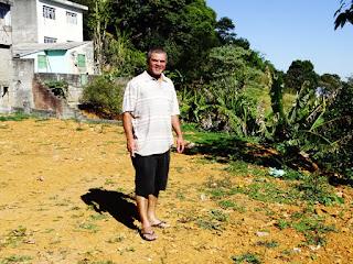 Jorge da Silva Andrade mora há 1 ano na Vila Nova