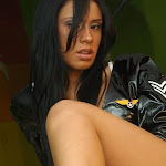 Andrea Rincon, Selena Spice Galeria 5 : Vestido De Latex Negro Foto 61