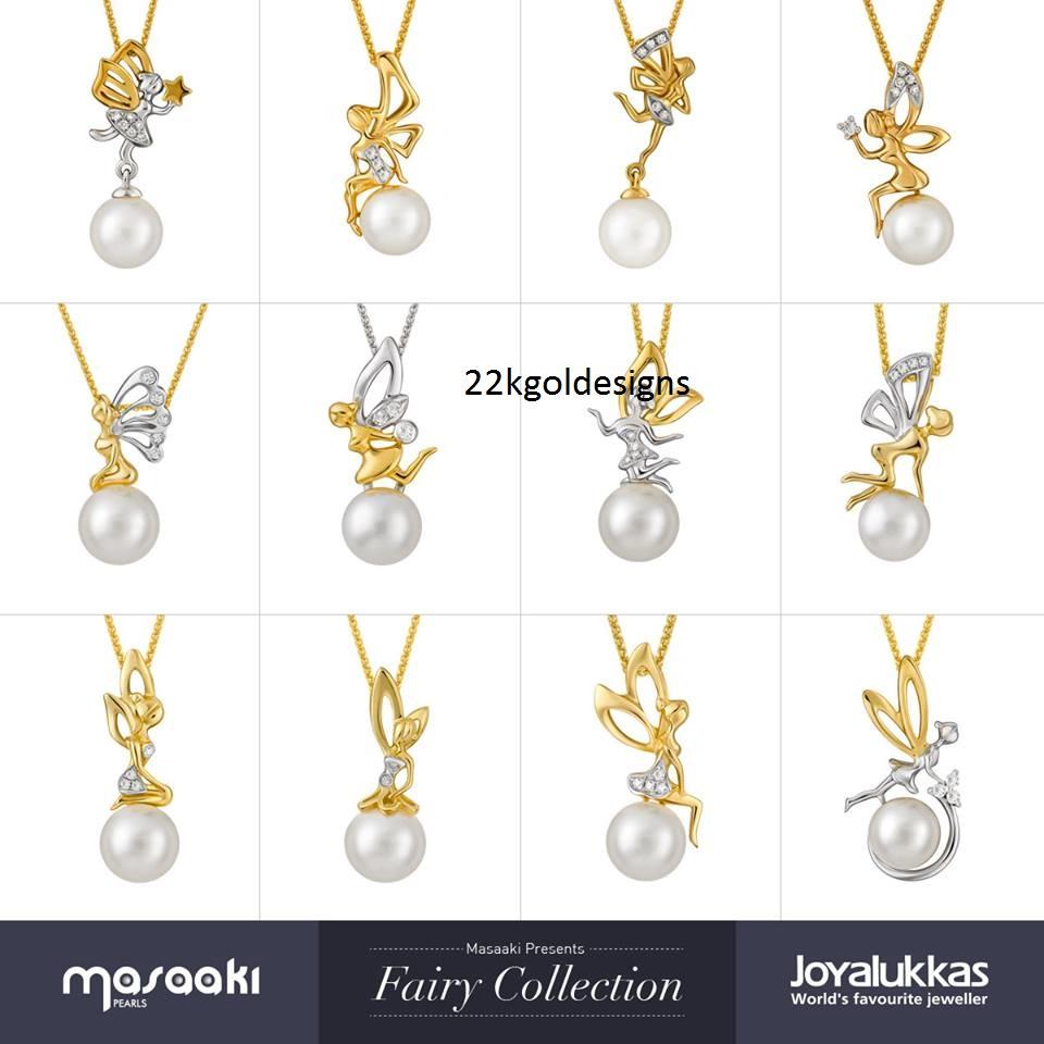 Simple pearl diamond pendant designs 22kgolddesigns simple pearl diamond pendant designs beautiful 18k masaaki pearls diamond pendants collection by joyalukkas aloadofball Images