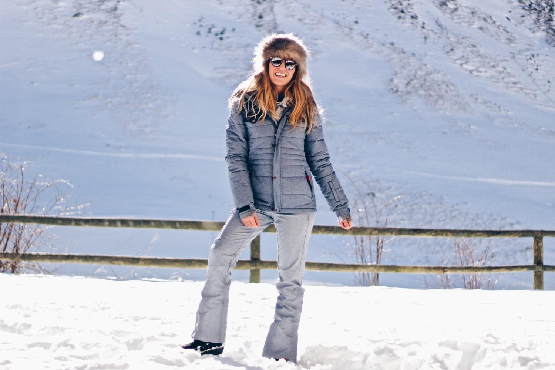 ropa esquí mujer