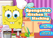 Spongebob Kitchen Slacking juego
