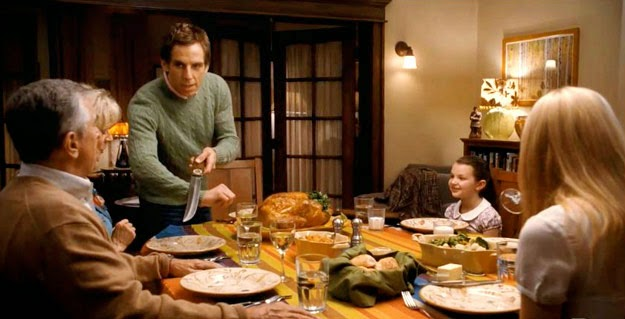 "Pasaje de ""Little Fockers"", con Jack y Greg al frente"