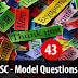 Kerala PSC - Model Questions English - 43