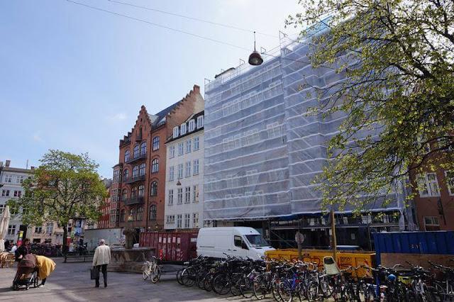 Copenhagen downtown hostel fachada en reformas