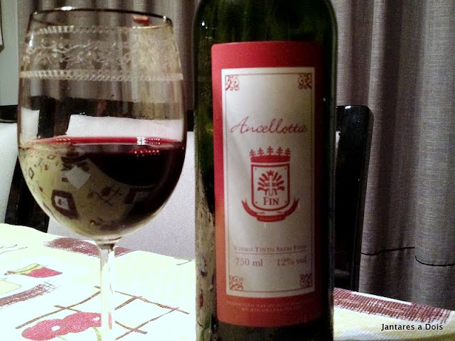 Vinho Tinto Ancellotta - Vinícola Fin