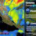 Tormentas de fuertes a muy fuertes con actividad eléctrica y granizo se prevén en Coahuila, Nuevo León, Tamaulipas y Oaxaca