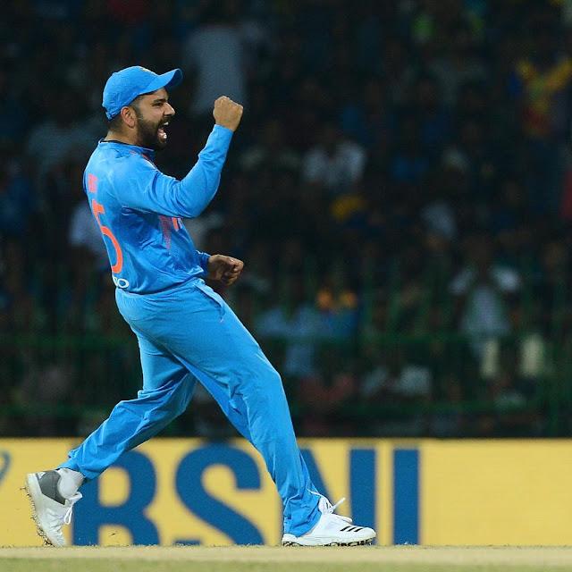 T20 में कप्तान के रूप में रोहित शर्मा का रिकॉर्ड विराट कोहली और धोनी से बेहतर है