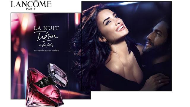 Reklama perfum La Nuit Tresor a la Folie