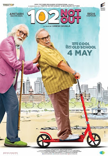 102 Not Out First Look Poster