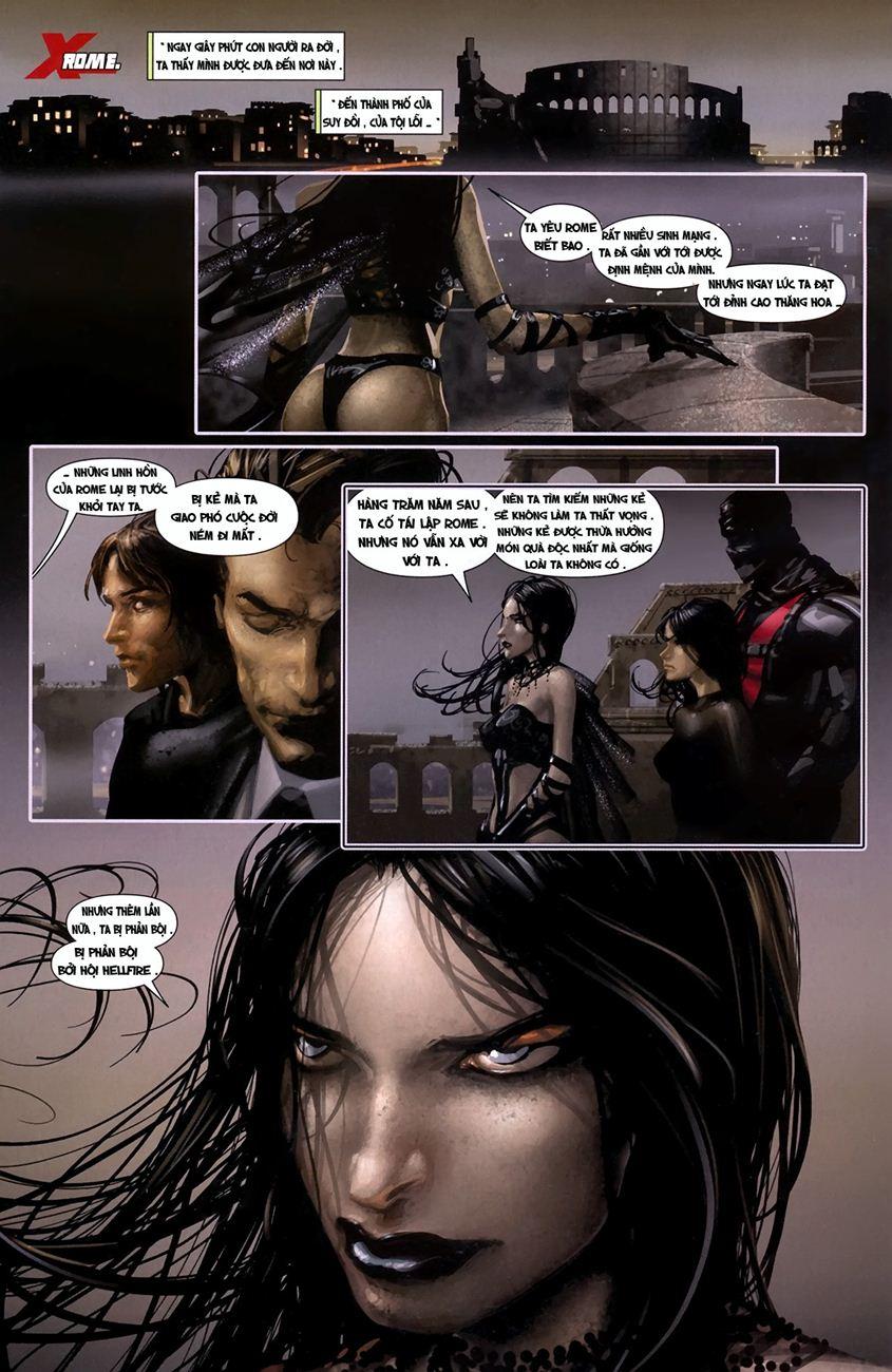 X-Men Necrosha chap 1 trang 12