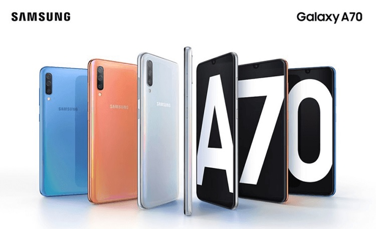 Samsung Galaxy A70 Now Official