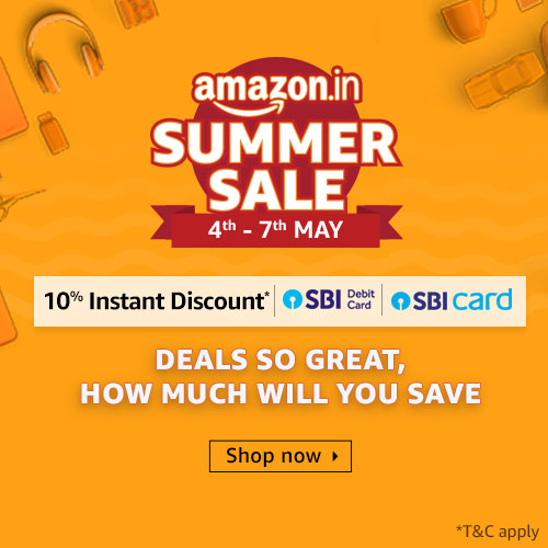 Amazon Summer Offer in India from May 4 to 7