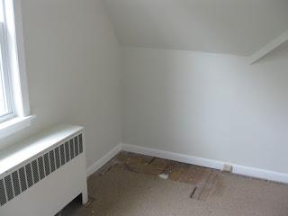 Foto de la esquina de una habitación