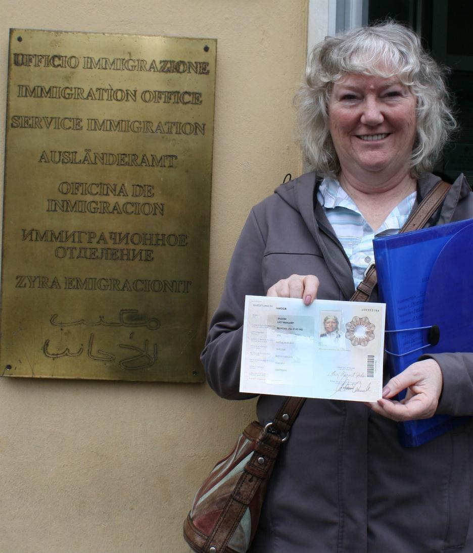 Living (with) abroad in Tuscany: Permesso di soggiorno in hand, but ...