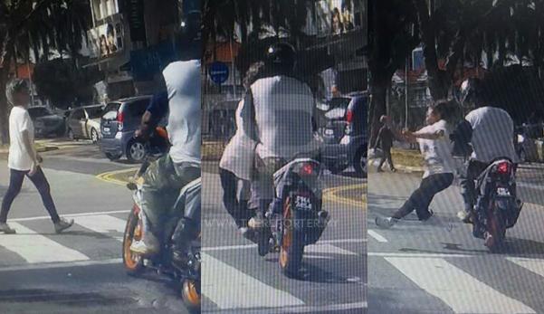[Video] Wanita warga emas dilanggar lari