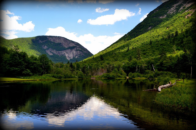 Crawford Notch, Willey Pond White Mountain National Forest, Harts Location, New Hampshire, cloud, shadows