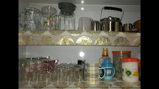 نصائح لطريقة ترتيب الكاسات مطبخك