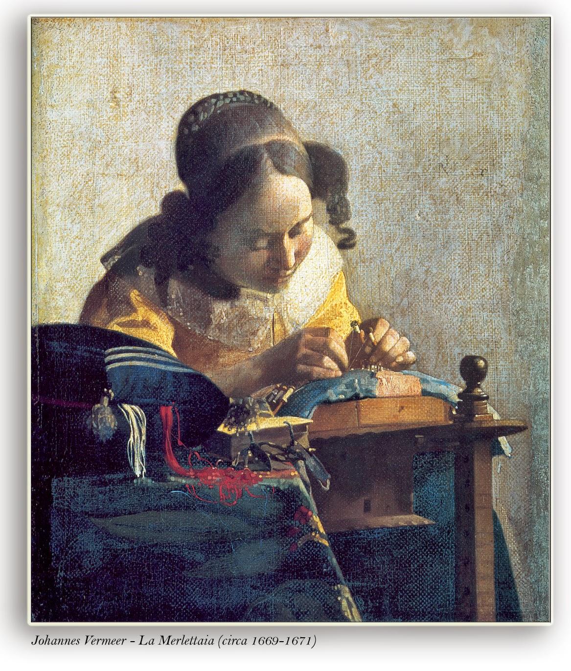 Vermeer - La Merlettaia