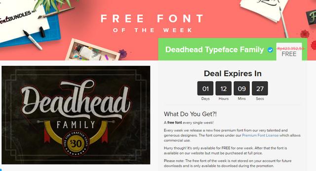 Website Font Bundles