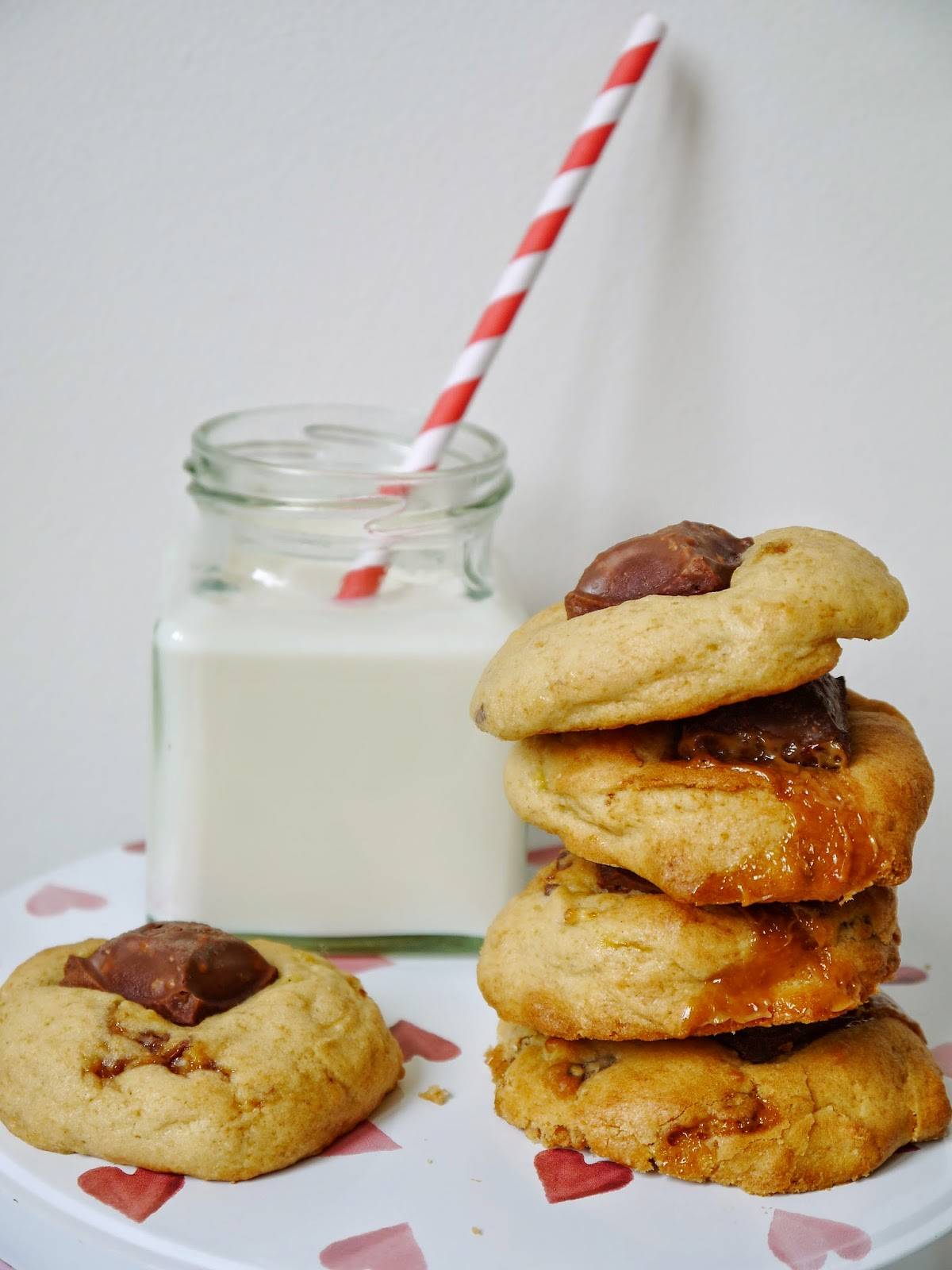 Gooey Banoffee Dairy Milk Cookies Recipe The Betty Stamp