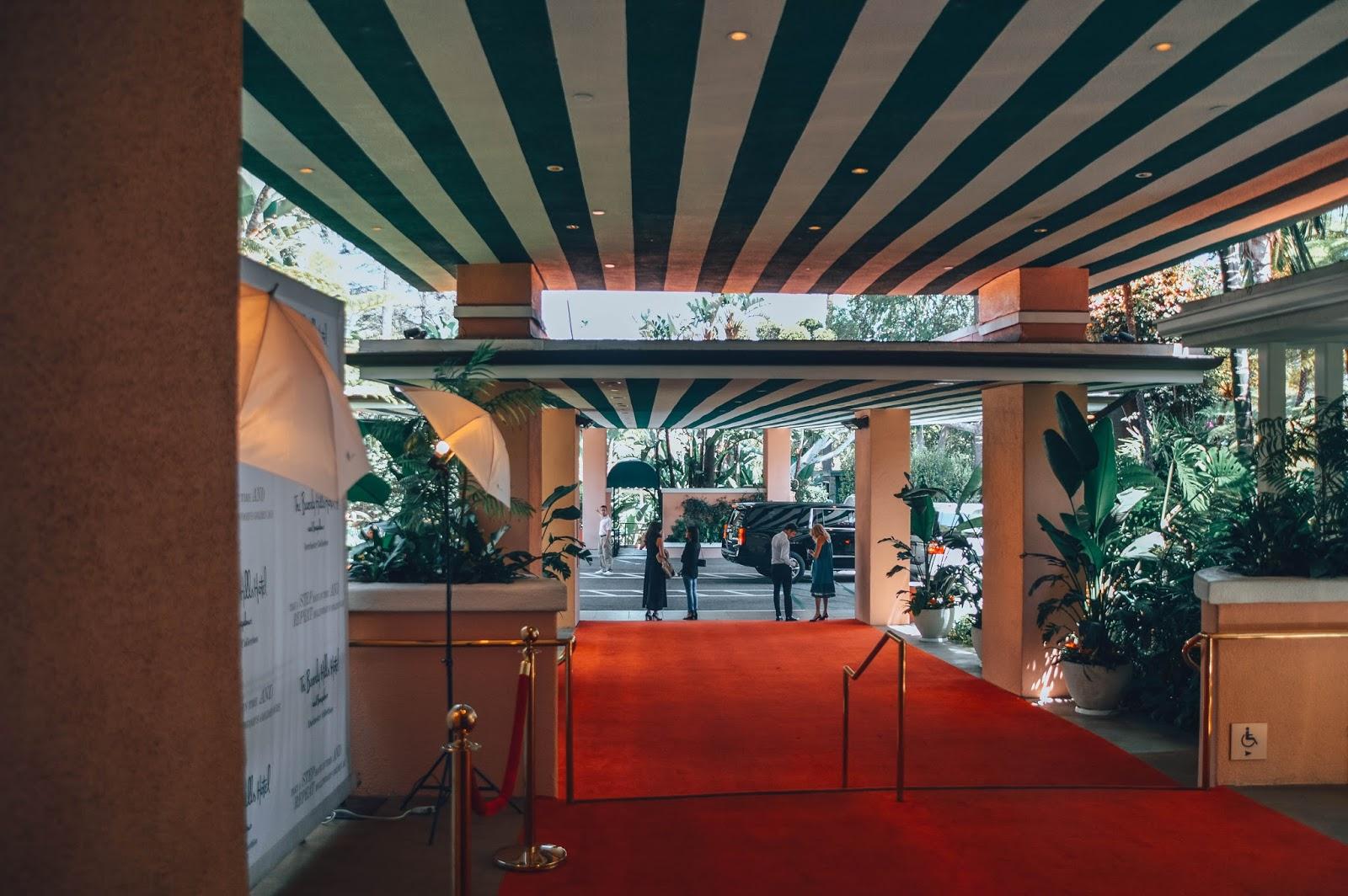Explore Beverly Hills Cabana Cafe Rodeo Drive Carrera