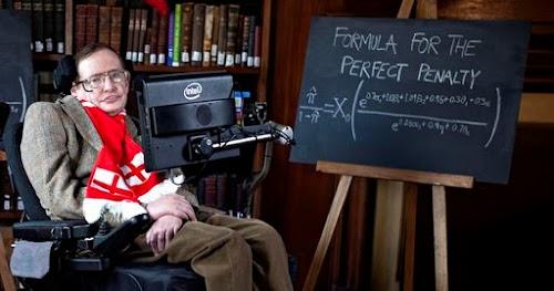 A relação entre Stephen Hawking e o futebol