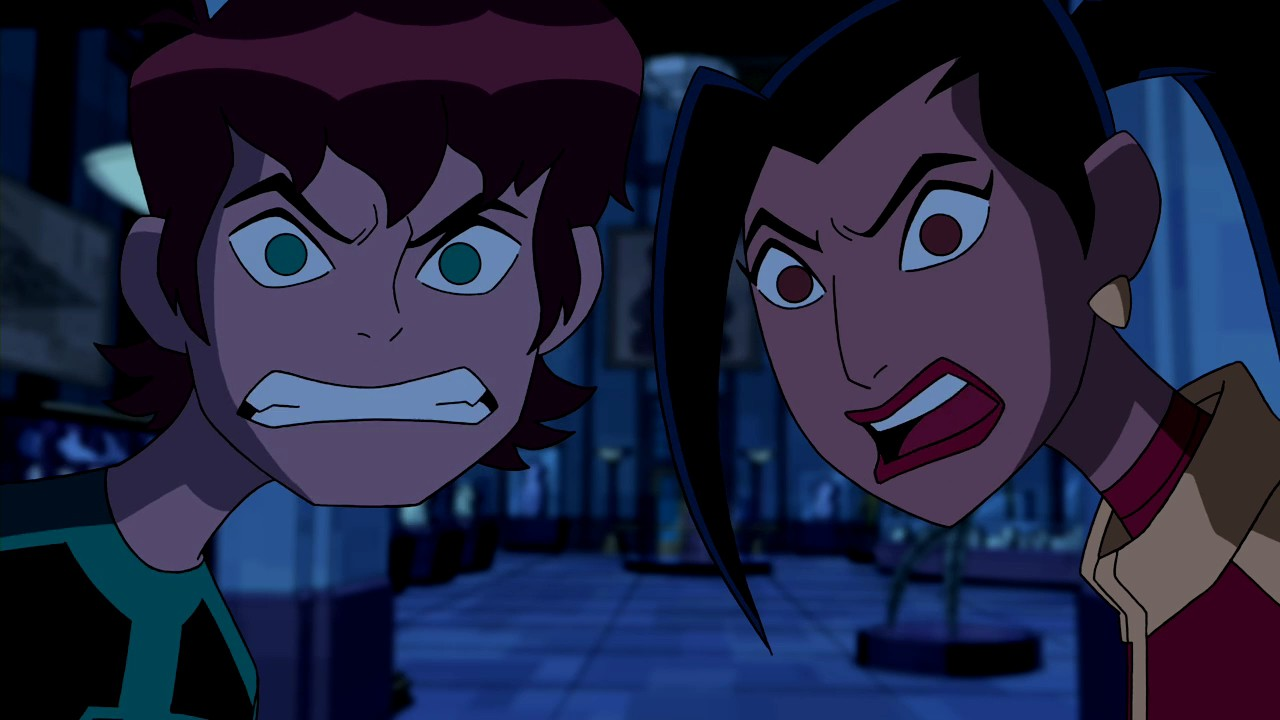 Kiss cartoon ben 10 omniverse