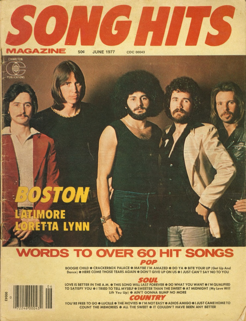 Probably The First Music Related Magazine I Ever Bought Was Song Hits Wanted To Say It Late In 1976 But After Viewing All Covers From That Year