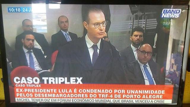 PT poderá usar imagens da Band News para provar que julgamento de Lula foi fraude