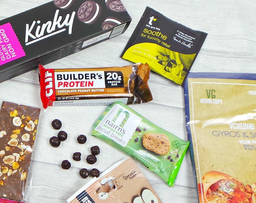 July vegan tuck box